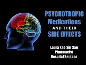 Side effects of psychotropic drugs